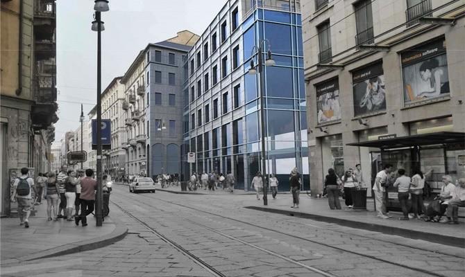 Pria opens a new building in Via Torino