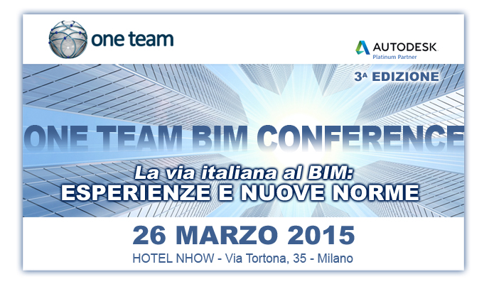 One Team BIM Conference 2015