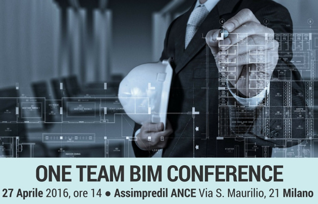 One Team BIM Conference Milano