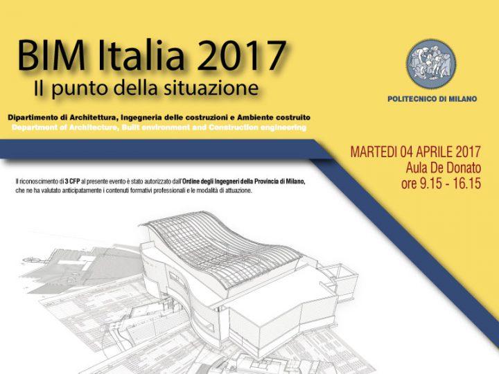 BIM Italia 2017 – Overview