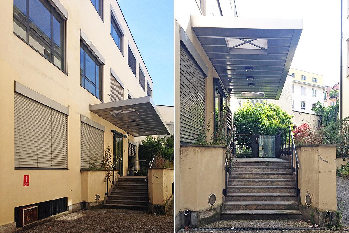 Uffici zurich in via fucini bms progetti for Contemporaneo costruito ins